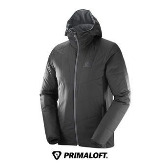 Anorak hombre DRIFTER MID  black/forged iron