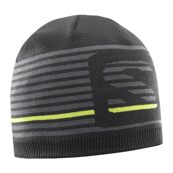 Gorro reversible FLATSPIN SHORT black/forged