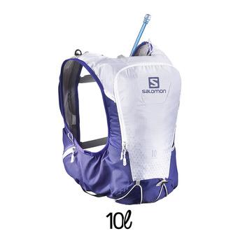 Mochila de hidratación 10L SKIN PRO spectrum blue/white