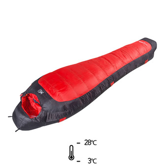 Saco de dormir -3°C/-28°C COMPOSITE 10 red