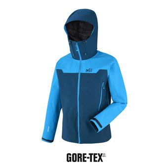 Veste à capuche Gore-Tex® homme KAMET 2 poseidon/electric blue
