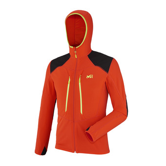 Chaqueta polar hombre PIERRA MENT orange
