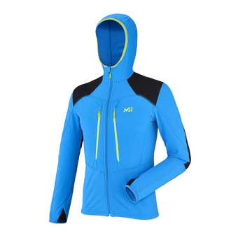 Chaqueta polar hombre PIERRA MENT electric blue