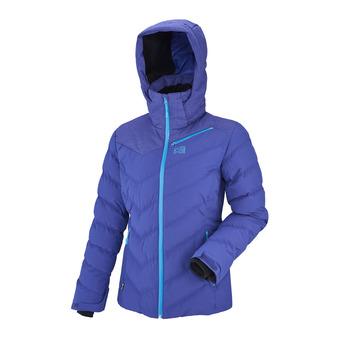 Veste à capuche femme LD HEIDEN II purple blue/purple