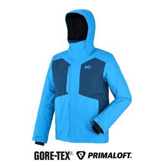 Chaqueta Gore-Tex® hombre RESCUE II electric blue/poseidon