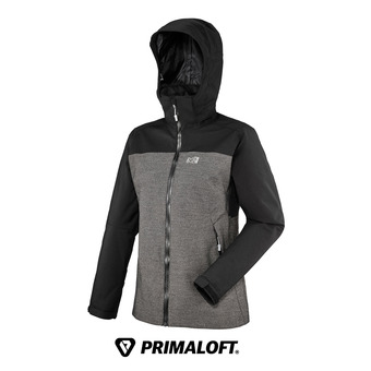 Veste à capuche Primaloft® femme LD SALTORO STRETCH black