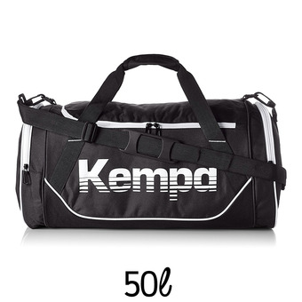 Sac de sport  SPORTS BAG 50L noir/blanc