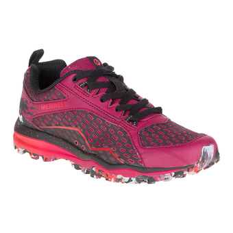 Zapatillas de trail mujer ALL OUT CRUSH TOUGH MUDDER beet red