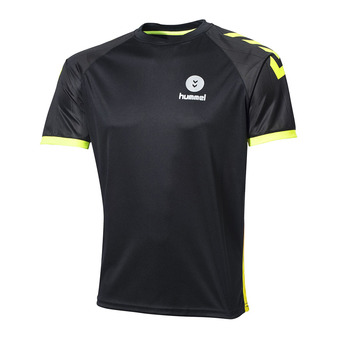 Camiseta hombre CAMPAIGN black/safety yellow