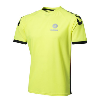 Camiseta hombre CAMPAIGN safety yellow/black