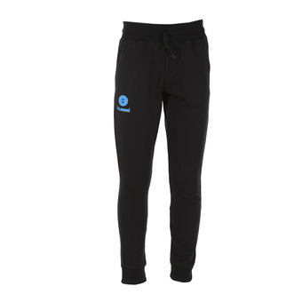 Pantalón de chándal hombre FIT black/diva blue