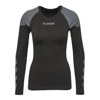 Camiseta térmica mujer COMFORT black