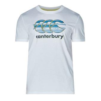 Camiseta hombre VAPODRI CCC LOGO bright white