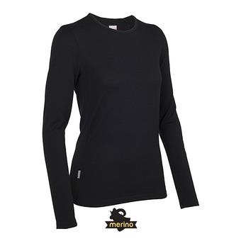 Camiseta técnica mujer CREWE black