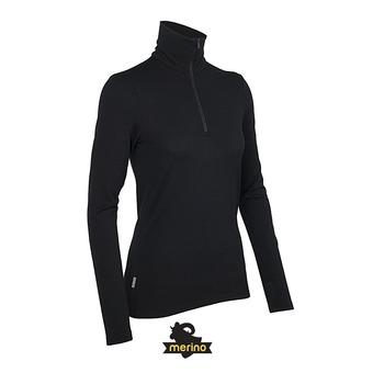 Camiseta térmica mujer CREWE black