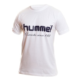Camiseta hombre UH blanco/marino