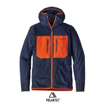 Chaqueta polar reversible hombre R3 navy blue