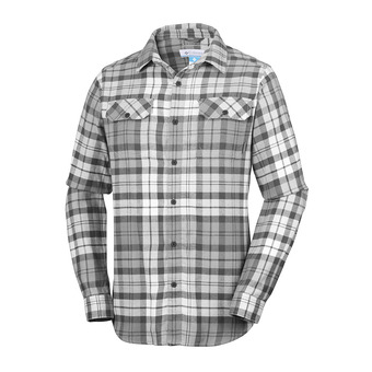 Chemise ML homme FLARE GUN™ FLANNEL III shark blanket plaid