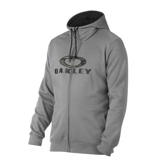 Sudadera hombre COMBAT FZ athletic heather grey