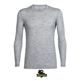 Camiseta hombre TECH LITE metro hthr