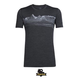 Tee-shirt MC homme TECH LITE PYRENEES jet hthr