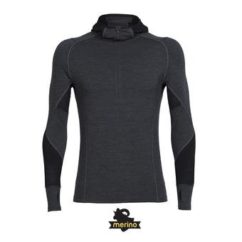 Camiseta térmica hombre WINTER ZONE jet hthr/black/lunar