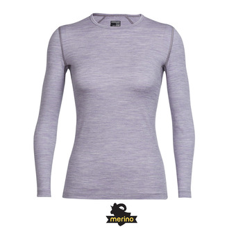 Camiseta térmica mujer OASIS silk hthr