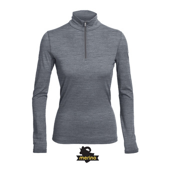 Sous-couche ML 1/2 zip femme OASIS gritstone hthr
