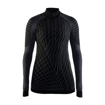 Camiseta térmica mujer BA INTENSITY negro/gratino