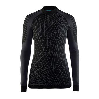 Camiseta térmica mujer BA INTENSITY RDC negro/gratino