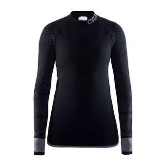 Camiseta térmica mujer KW INTENSITY RDC negro/gratino