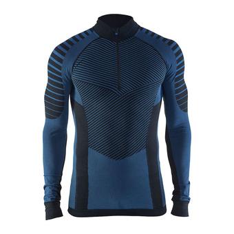 Camiseta térmica hombre BA INTENSITY negro/azul