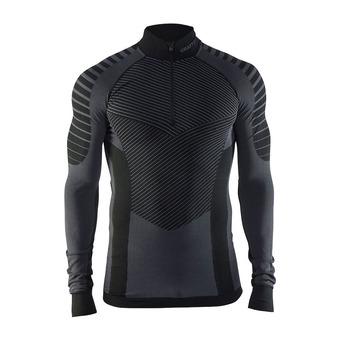 Camiseta térmica hombre BA INTENSITY negro/granito