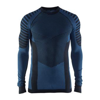 Camiseta térmica hombre BA INTENSITY RDC negro/azul