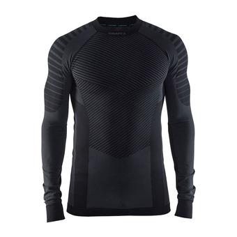 Camiseta térmica hombre BA INTENSITY RDC negro/granito