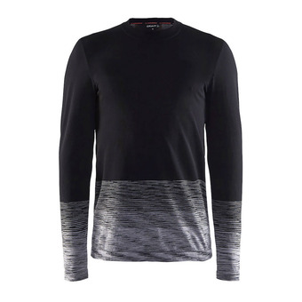 Sous-couche ML homme KW WOOL COMFORT 2.0 noir/anthra