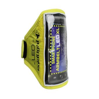 Brazalete para smartphone ARMBELT LED amarillo