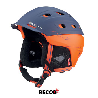 Casque de ski I-BRID RESCUE mat midnight scarlet