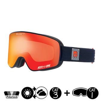 Masque de ski polarisé POLARIS CLX mat black orange