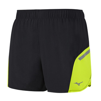 Short hombre AERO SQUARE 4.5 black/safety yellow