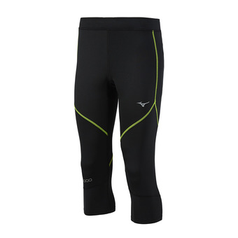 Mallas 3/4 hombre BG3000 black/safety yellow