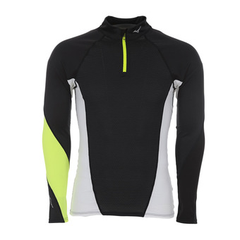 Camiseta hombre VIRTUAL BODY G1 black/safety yellow