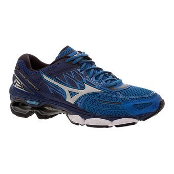 Chaussures running homme WAVE CREATION 19 dir blue/silver/blueprint