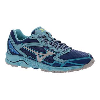 Chaussures de trail femme WAVE DAICHI 2 true blue/microchop/blue