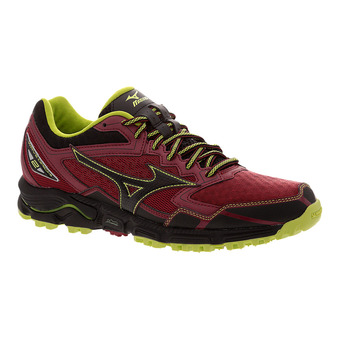 Zapatillas de trail hombre WAVE DAICHI 2 biking red/black/lime punch