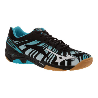 Zapatillas indoor hombre WAVE GHOST blue atoll/white/black