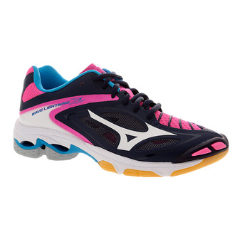 Zapatillas indoor mujer WAVE LIGHTNING Z3 peacoat/white/pink glo