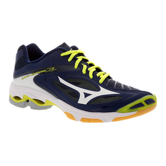 Zapatillas indoor hombre WAVE LIGHTNING Z3 blue depths/white/safety yellow
