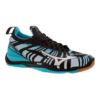 Zapatillas indoor hombre WAVE MIRAGE 2 blue atoll/white/black