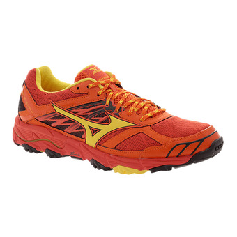 Chaussures de trail homme WAVE MUJIN 4 grenadine/yellow/red ora